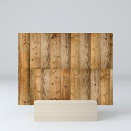 Wood 6 Mini Art Print