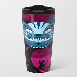 Cheshire smile Metal Travel Mug