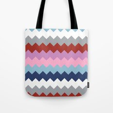 Map Quilt Tote Bag