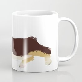 Tri-Color Corgi Coffee Mug