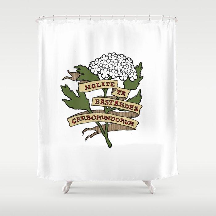 Handmaid's Tale - NOLITE TE BASTARDES CARBORUNDORUM (color) Shower Curtain