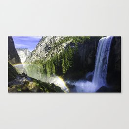 Vernal Falls - Yosemite Valley Canvas Print