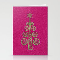 christmas tree Stationery Cards featuring Christmas Tree by Mr and Mrs Quirynen