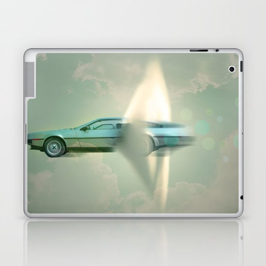 Supersonic Delorean Laptop & iPad Skin