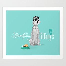 BREAKFAST AT TIFFANY'S WEIM Art Print