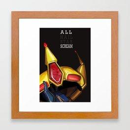 all scream Framed Art Print