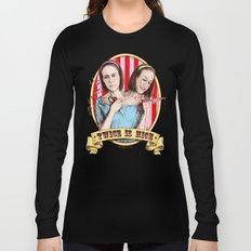 Tattler Twins (color) Long Sleeve T-shirt