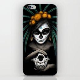 Voodo Dia De Los Muertos Day Of The Dead Sugar Ultra HD iPhone Skin