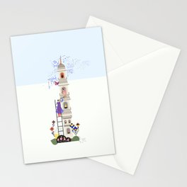 Indian miniature interpreted Stationery Cards