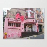 korea Canvas Prints featuring Seoul, Korea by Kimberly Vogel Travel Photographer