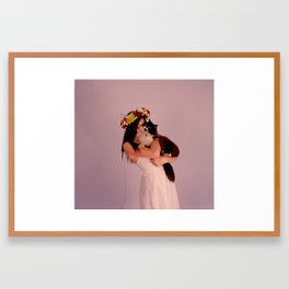 Cat Tamer pt2 Framed Art Print
