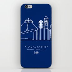 My City is Better Than Your City - Spokane, WA iPhone & iPod Skin