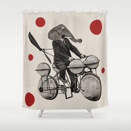 Anthropomorphic N°21 Shower Curtain