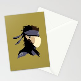 Paramedic Solid Snake Stationery Cards