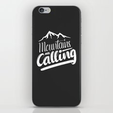 Mountains Are Calling iPhone & iPod Skin