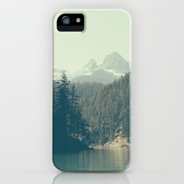 The departure - Diablo Lake iPhone Case
