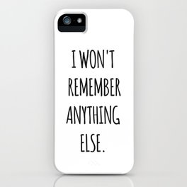 Lesbian quote iPhone Case
