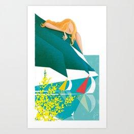 Illustre Conero - Ginestra Art Print