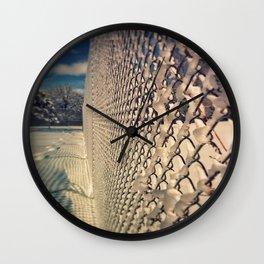Sno-where To go Wall Clock