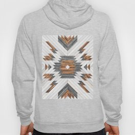 Urban Tribal Pattern No.8 - Aztec - Wood Hoody