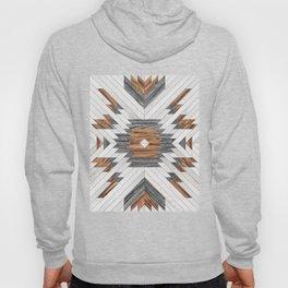 Urban Tribal Pattern No.8 - Aztec - Wood Hoody