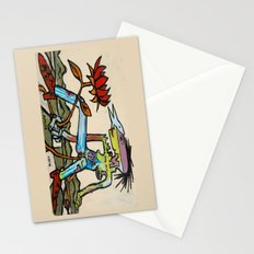 Her Flower Power Stationery Cards