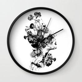 Broken BW Wall Clock