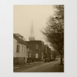 Ghost Church II Canvas Print