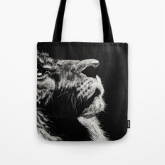 The Once and Future King (Lion) Tote Bag