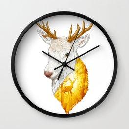 Enchanted Stag Wall Clock