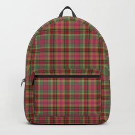 Abigail Plaid by Maeve Rembold Backpack