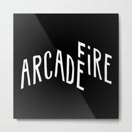 ArcadeFire Metal Print