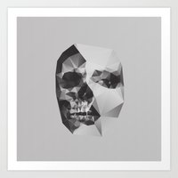 death Art Prints featuring Life & Death. by David