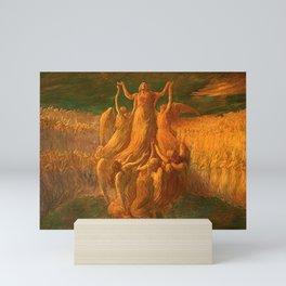 L'Assunzione (Assunta) The Resurrection by Gaetano Previati Mini Art Print