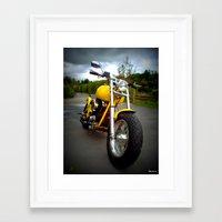 harley Framed Art Prints featuring Harley by elkart51