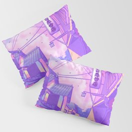 City Pop Kyoto Pillow Sham