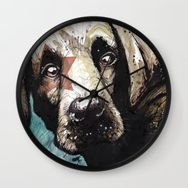 Doggyportrait Wall Clock