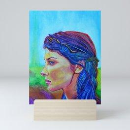 Caitriona Balfe Mini Art Print
