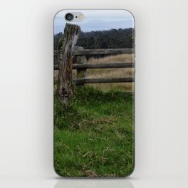 Rustic Fence iPhone Skin