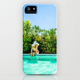 Summer Pool Days iPhone Case