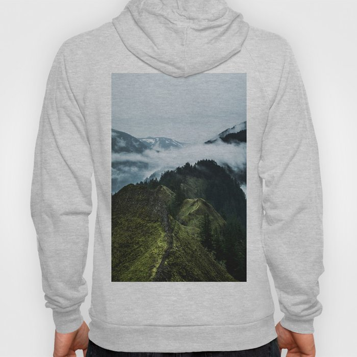 Foggy mountains Hoody