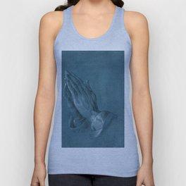 """""""Praying Hands"""" by Albrecht Dürer Unisex Tank Top"""