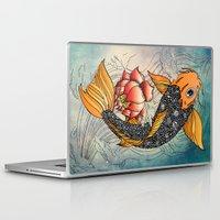 koi Laptop & iPad Skins featuring Koi by Tuky Waingan
