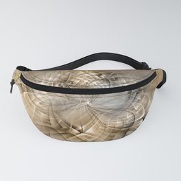 Abstract Earth Colors Fractal Fanny Pack
