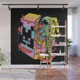 Space Arcade Wall Mural