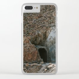 Interesting Train Tunnel Clear iPhone Case