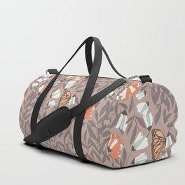 Monarch garden 004 Duffle Bag