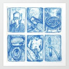 My Life so Far by Dilbert Drangan (Part I) Art Print
