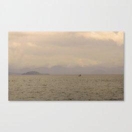 Catemaco Lagoon Canvas Print