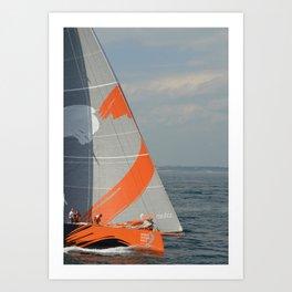 To Sea! (Team Alvimedica) Art Print